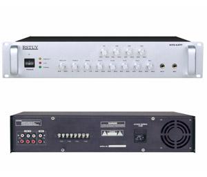 4分区可调音量合并式广播功