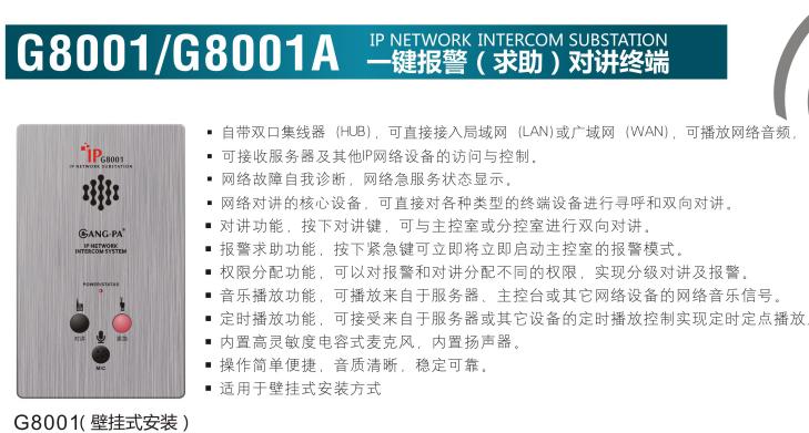 G8001/G8001A