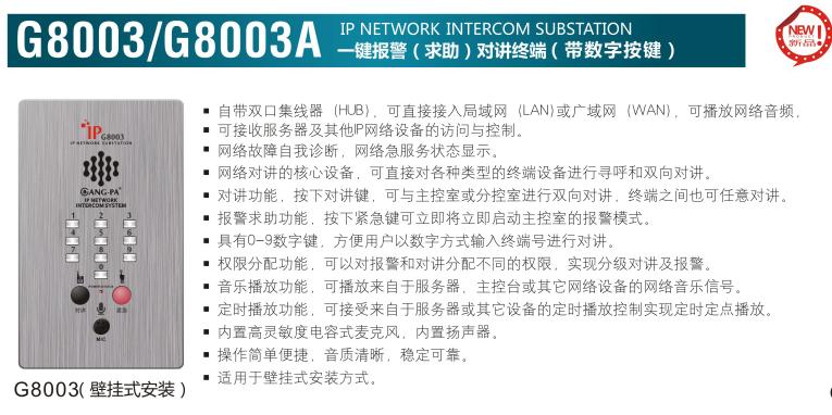 G8003/G8003A