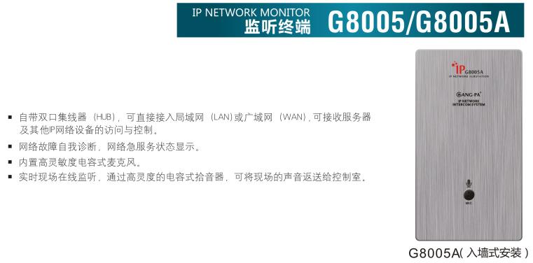 G8005/G8005A