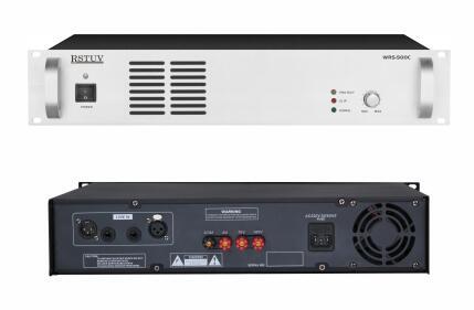 2U纯后级广播功率放大器