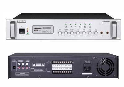 2U带6分区MP3/FM广播功率放